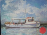 Chesapeake Crabbers Workboat   9x12 $380